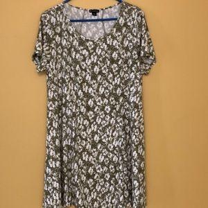 So soft short sleeve dress